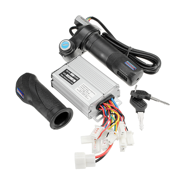Motorcycle Electric Bike Scooter 48V 1000W Controller Brushed With Throttle Twist Grips