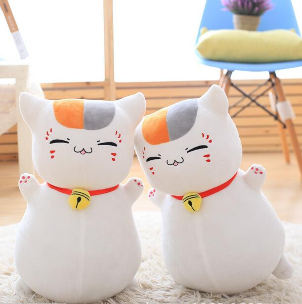 45cm Anime Natsume Yuujinchou Nyanko Sensei cat plush toy birthday gift  High quality animal plush toys new hot 16cm natsume yuujinchou cat nyanko sensei action figure toys collection christmas gift