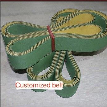 (Ceinture personnalisée) menuiserie rabot ceinture routeur haute vitesse en Nylon feuille de base bande de Transmission convoyeur à bande
