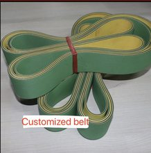 (Customized belt) Woodworking Planer Belt Router High Speed Nylon Sheet Baseband Transmission conveyor belt(China)