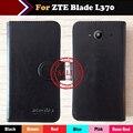 Цена завода ZTE Blade L370 Чехол Флип ультратонкий Настроить Кожаный Защитный Телефон Обложка Бумажник Дизайн + номер для Отслеживания