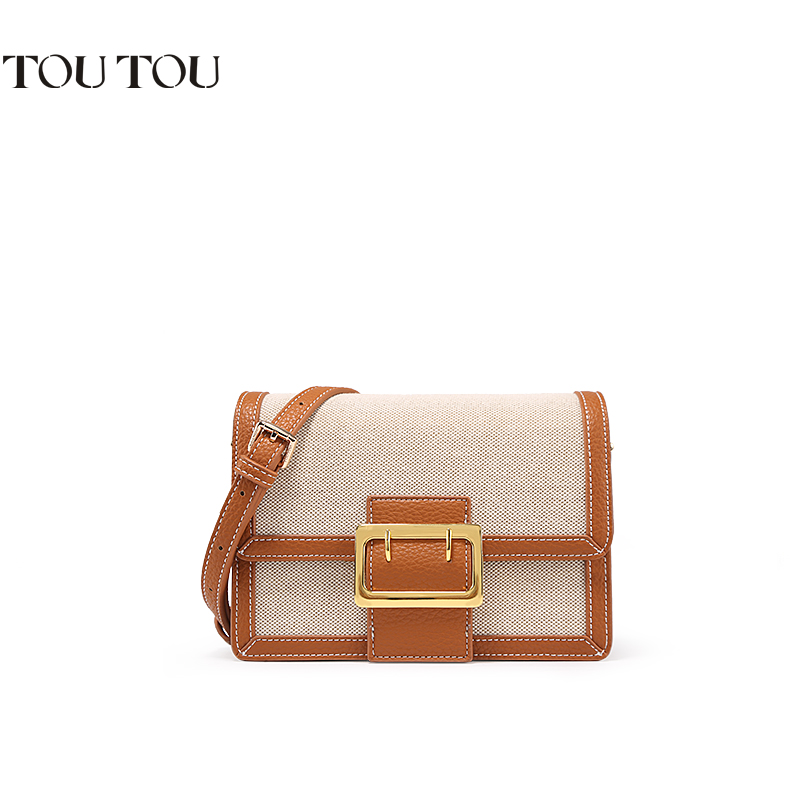 TOUTOU new winter 2018 belt buckle simple square bag cross-body bag women trend for women lady fashion free shippingTOUTOU new winter 2018 belt buckle simple square bag cross-body bag women trend for women lady fashion free shipping