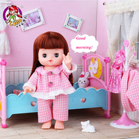 Lelia reborn baby dolls combination doll suit Gift Box kawaii fun toy pretend play baby Toys for girls Children Birthday Gifts