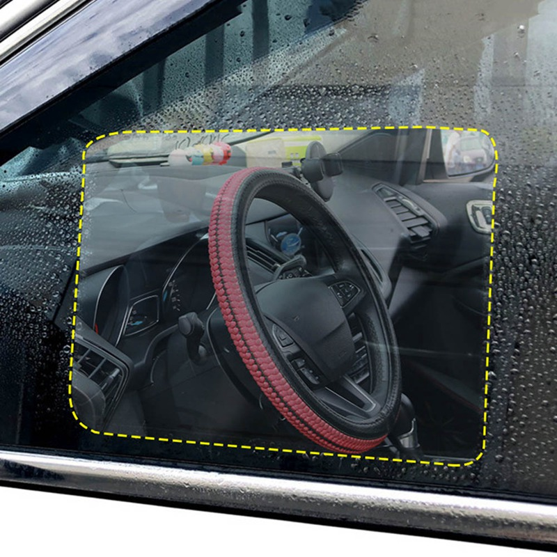Car Rearview Mirror Glass Film Waterproof Anti-Fog Rain-Proof Window Membrane
