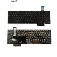 Русская клавиатура для ноутбука Asus G750 G750JH G750JM G750JS G750JW G750JX G750JZ RU черная клавиатура