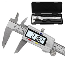Digital Stainless Steel Electronic Vernier Caliper 0-150mm High Precision 0.01mm Vernier Caliper Micrometer Measuring Instrument three point fixation thickness inside micrometer 20 25mm 0 005 micrometro measuring tool high precision plicometro