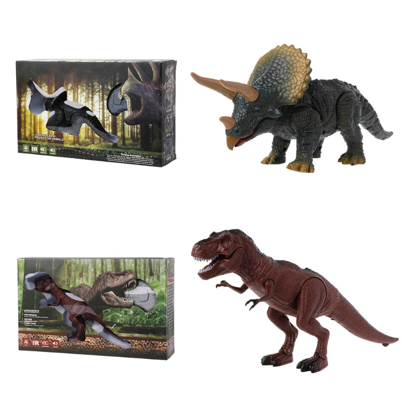 Remote Control Dinosaur Toy Voice Flickering Eyes Moving Mouth Wireless Pet-m15