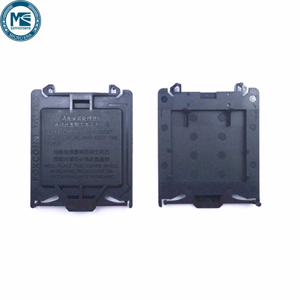 free shipping 100pcs Motherboard socket 115X CPU Protector Cover fit for  1155 1156 1150 Motherboard