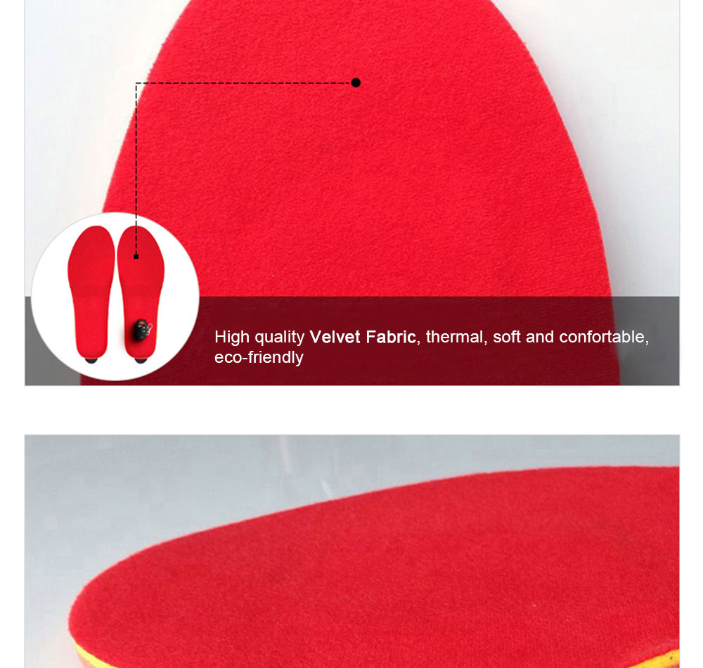 Wireless Controll Electric Heated Insoles_07