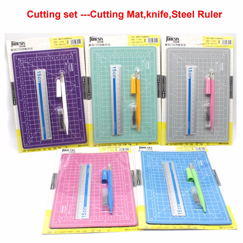 Craving Knife Cutting Mats Steel Ruler-cutting Collection