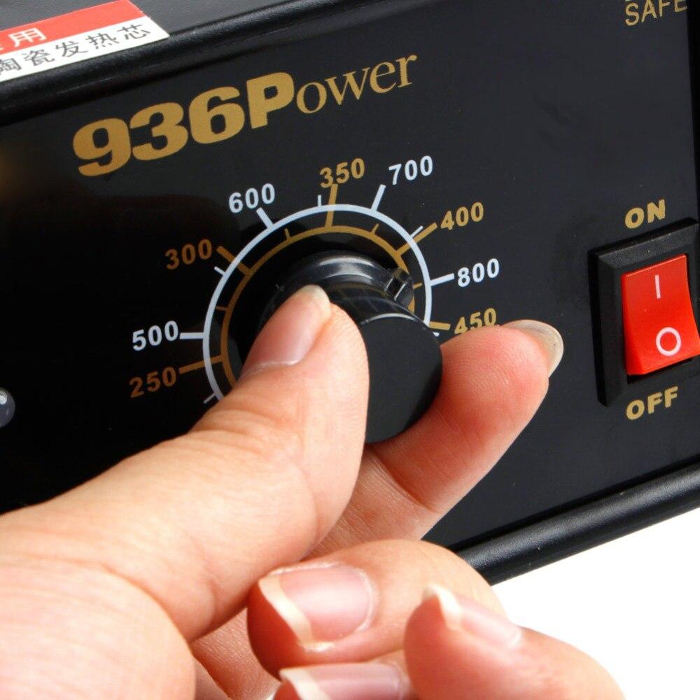 Welding Iron 220V Soldering SMD 110V Rework Station Electric 936Power