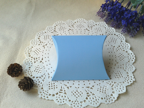 Free Shipping 200pcs Matt Blue Pillow Box Wedding Favor Party Gift Paper  Boxes Jewelry Christmas Gifts