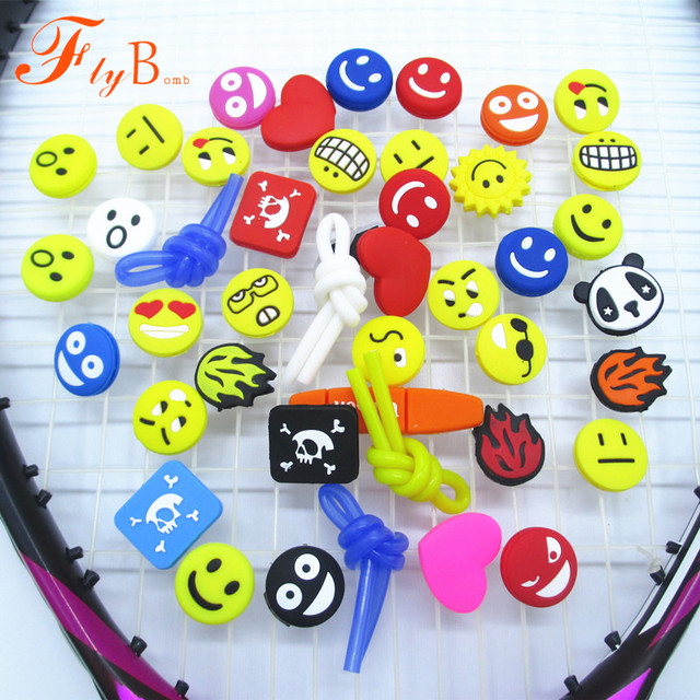 100 PCS Tennis Racket Shock Absorber to Reduce Tenis Racquet Vibration Dampeners raqueta tenis pro staff 20-30 Models L667