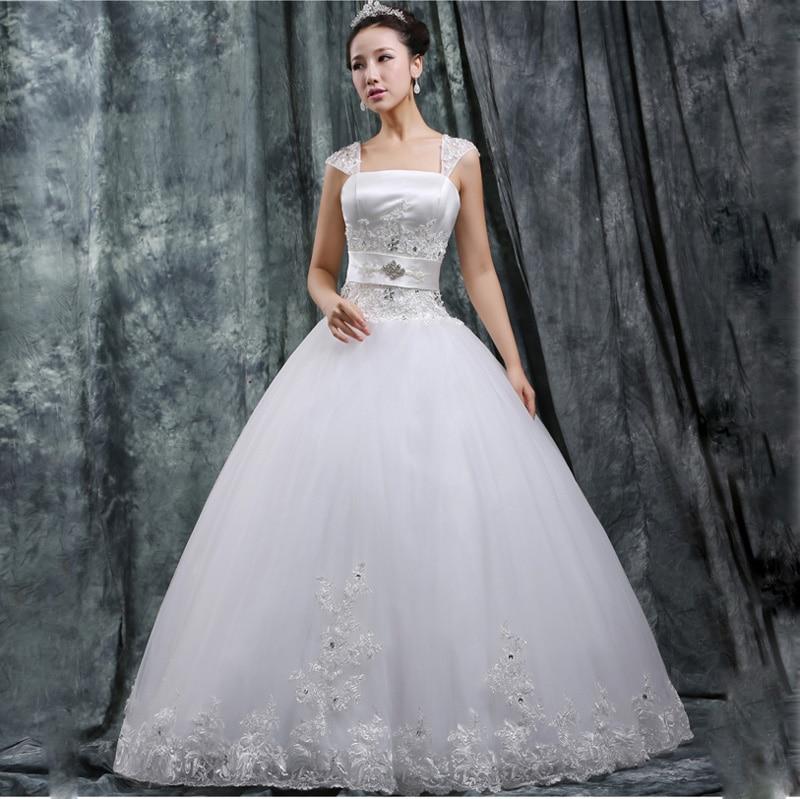 2014 New Arrival White Princess Luxurious Diamante
