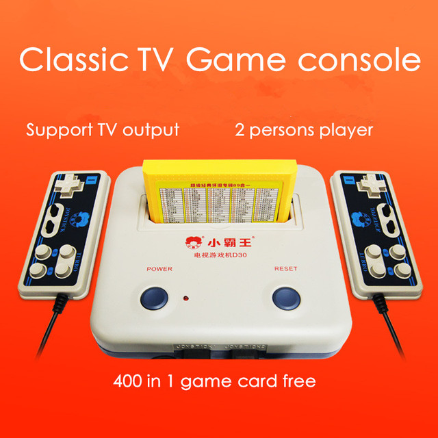 2017 Newest Classic Retro Tv Game Player Video Game Console With 400