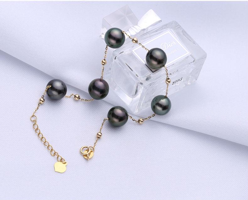 gold pearl bracelets 33