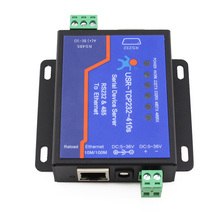 USR-TCP232-410S serial server RS232/485 to Ethernet bidirectional MODBUS RTU industrial modbus 2ports serial server rs232 rs485 rs422 to wifi ethernet device converter connector unit