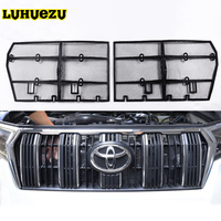 2Pcs Car Insect Screening Mesh Front Grille Insert Net For Toyota Land Cruiser Prado 150 2018