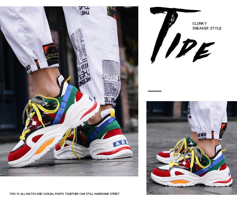 HTB1aCyUSgHqK1RjSZFPq6AwapXaw 2019 Harajuku Autumn Vintage Sneakers Men Breathable Mesh Casual Shoes Men Comfortable Fashion Tenis Masculino Adulto Sneakers