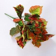 3.4 M Artificial Leaf Green Plants Fake Foliage Flowers Home Decor Plastic Plantas Artificiales Para Decoracion