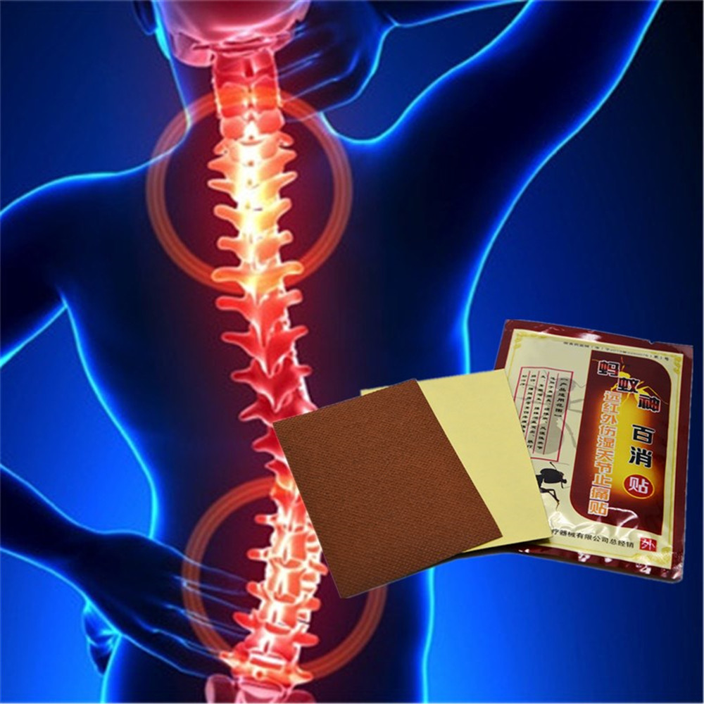 DISAAR Cure Rheumatism Arthritis Chinese Medicated Patch Ant venom Essential Oil Neck Back Pain Killer Herbal Plaster for Pain