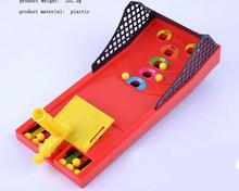 Mini Desktop Pinball Machine Ball Shooting Arcade Activity Kids Children Family Game