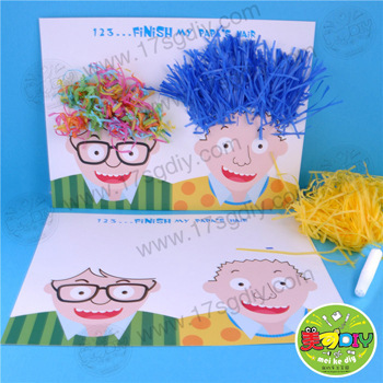 Baby Toys Daddys Hair Design Nursery Gift Ideas For Father S Day Handmade Children Diy Material