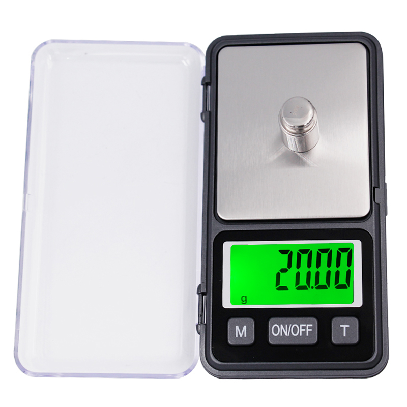 500g 0.01g Mini Digital Jewelry Scale Portable Electronic Digital Pocket Balance Weight Weighing Scales with LCD display 20%off