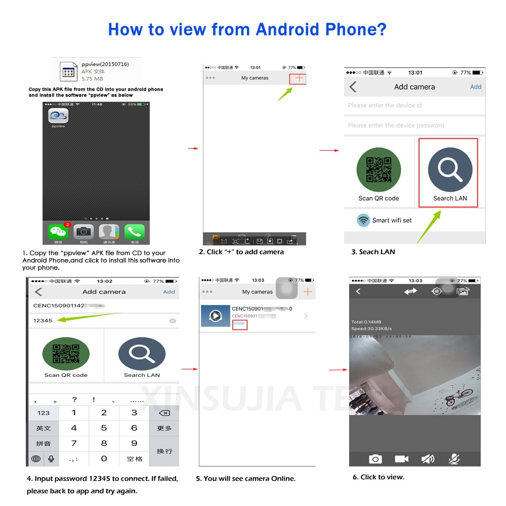 how to connect android phone