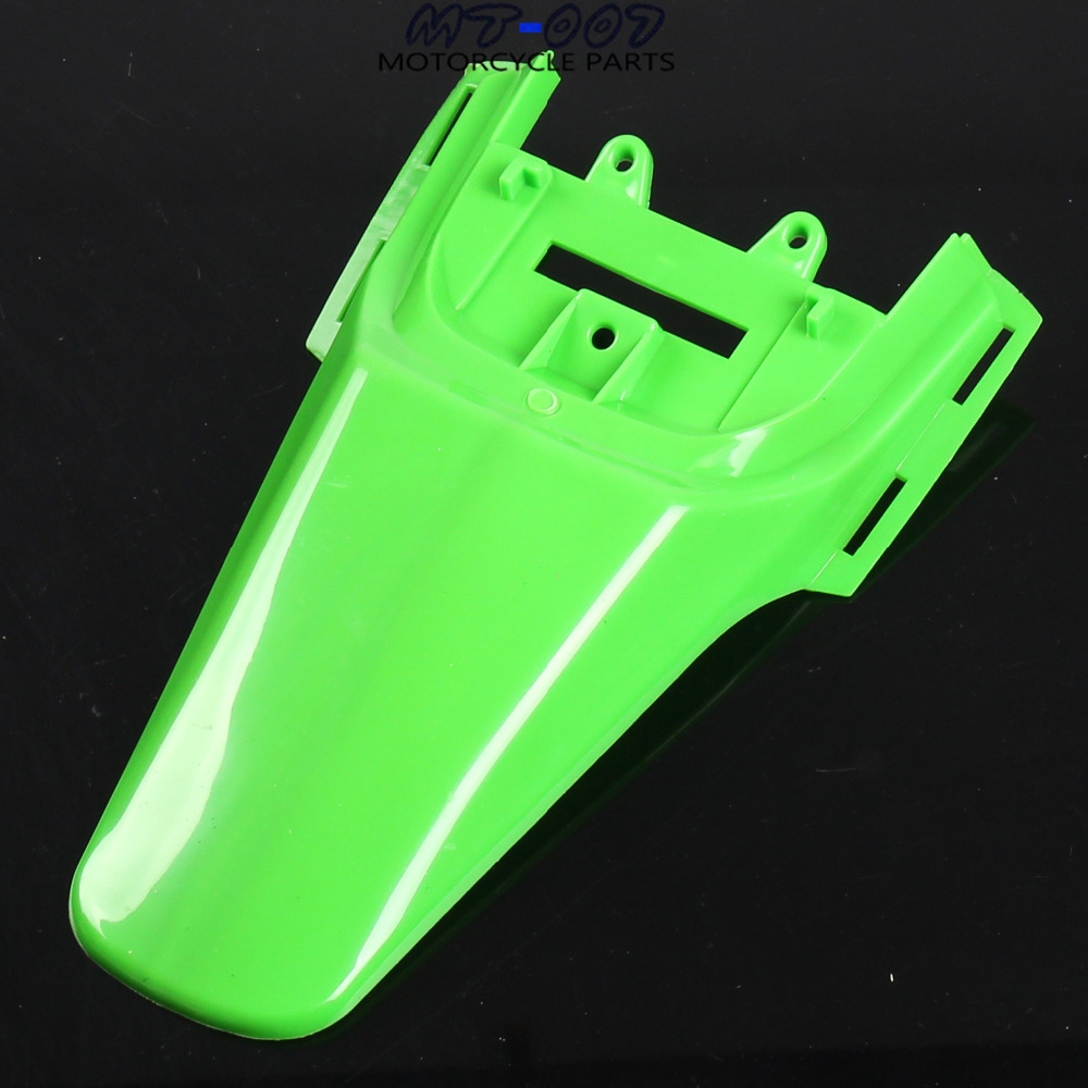 Free shipping Plastic Kit Backgrounds Rear Fender For CRF 50 CRF50 XR50 Dirt Pit Bike Motorcycle tdr tall seat plastics fender gas fuel tank for honda crf50 crf50 dirt pit bike motor quality 3pcs set free shipping