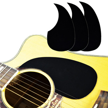 1 PC Professional Folk Acoustic Guitar Pickguard Top Quality Self-adhesive Pick Guard Sticker for Acoustic Guitar Accessories professional guitar accessories drop bird shaped pickguard folk acoustic self adhesive pick guard sticker scratch plate