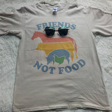 """Friends Not Food"" vegan women shirt"