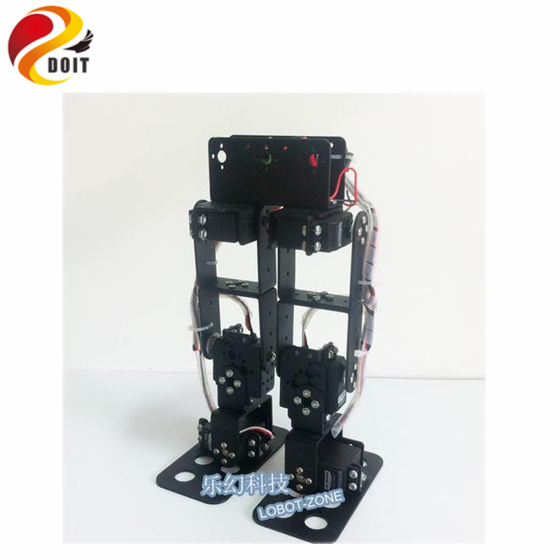 Official DOIT 6dof Biped Robot/Walking/Entry-level Game Dedicated a Full Set of Equipment new 17 degrees of freedom humanoid biped robot teaching and research biped robot platform model no electronic control system