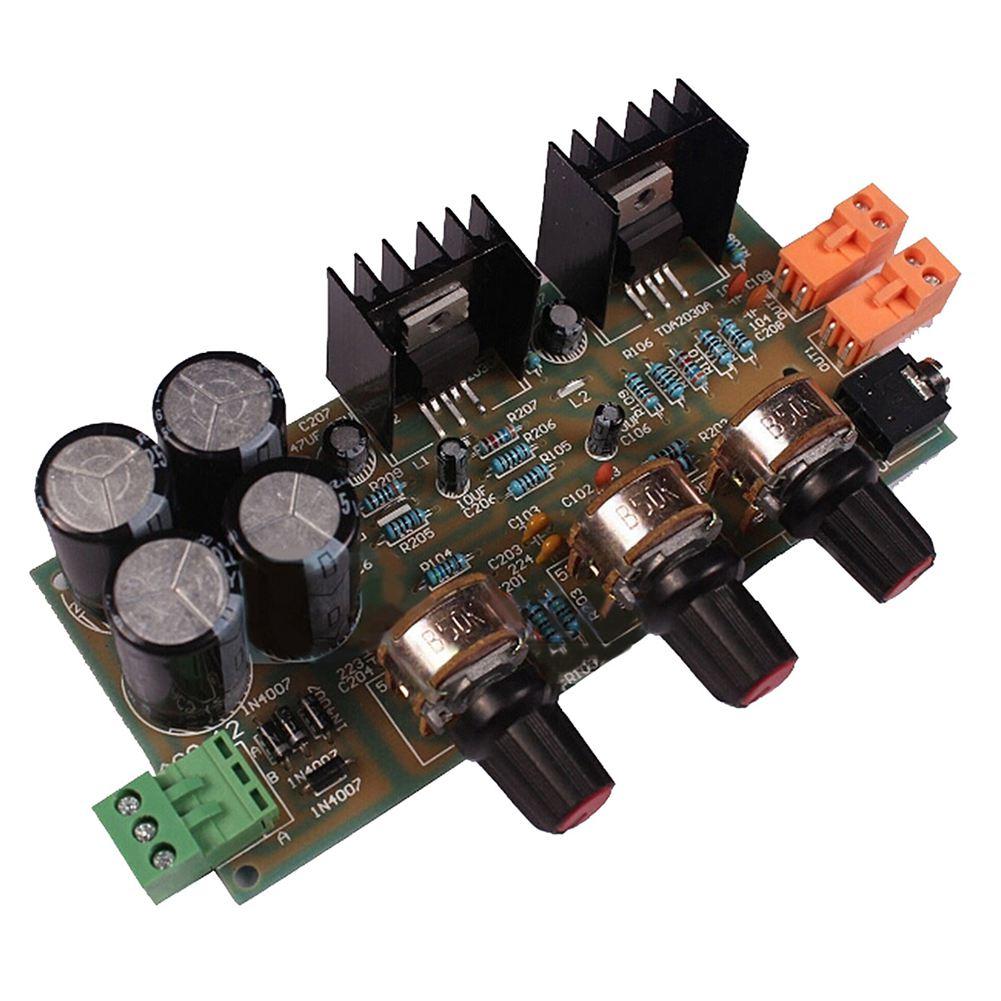 Free Shipping 2pcs Tda2050 Tda2030 21 Three Channel Way Module Figure 3 Diy Hifi Amplifier Schematic 1x2x18 Tda2030a 20 Kit