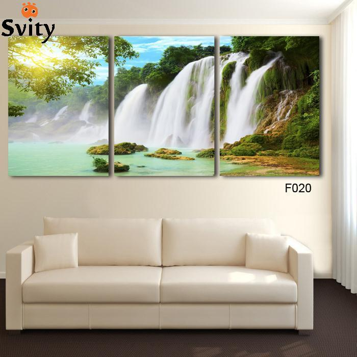 Aliexpress Com Buy Free Shipping 3 Piece Wall Decor: Free Shipping 3 Piece Wall Art Painting Canvas Painting