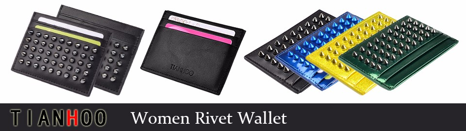 Women Rivet Wallet