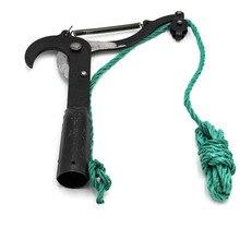 DSHA-Black Pulley High Branch Scissors Garden Farm Tools Pruning Tool Fruit Tool