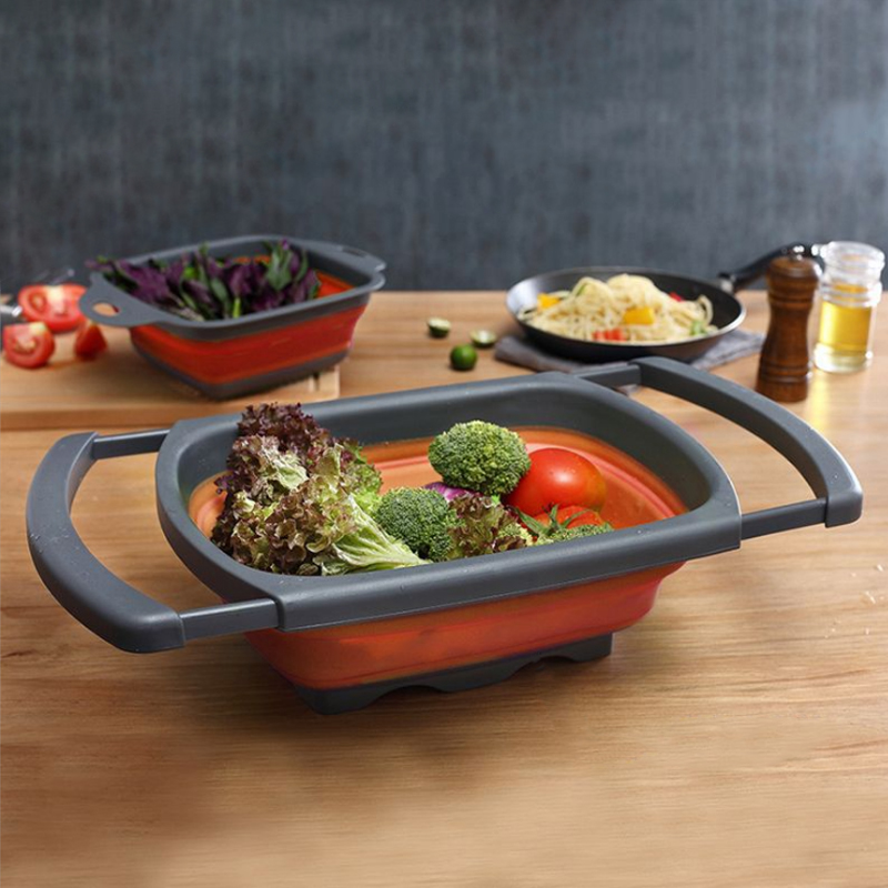 Collapsible colander . Why it is a must-have addition to your kitchen.