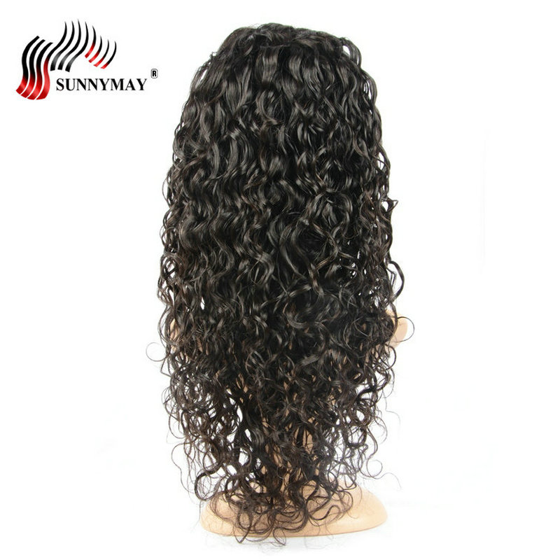 Sunnymay Full Lace Human Hair Wigs Loose Curly Pre Plucked Hairline Brazilian Remy Hair Lace Wig With Baby Hair Glueless