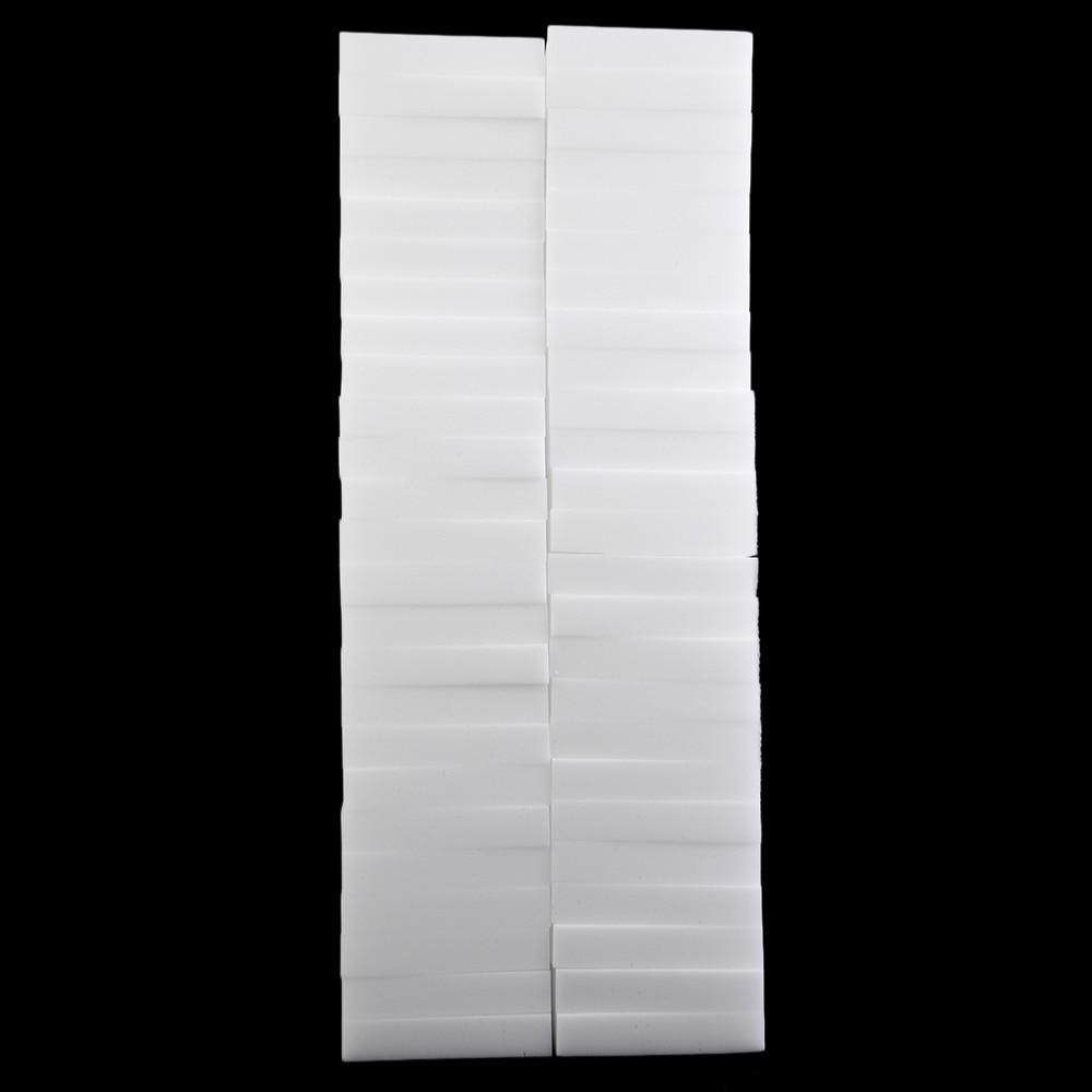 100pcs/lot White Magic Sponge Cleaner Eraser Multi functional ...