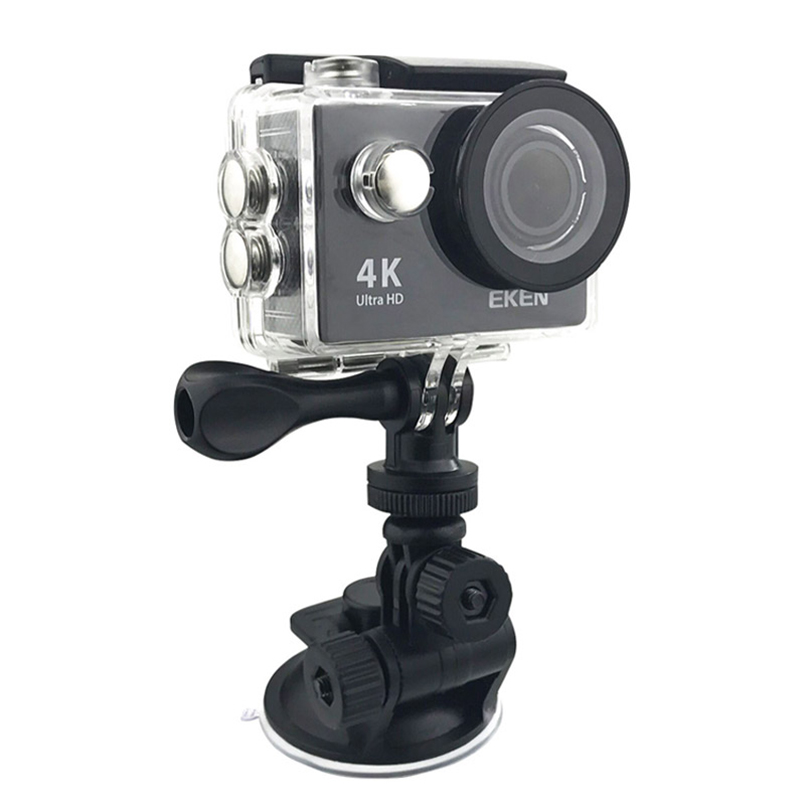 Car Sucker Holder Mount Suction Cup for Go Pro Hero 5 4 3 2 1 For SJ4000 sj5000 SJ7000 F60 EKEN H9 H9R H8 H8R YI mi cam