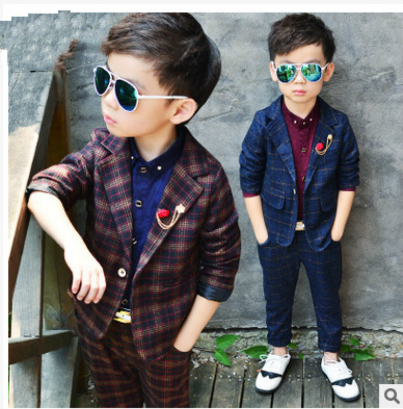 Boys Formal Suit Boys Suits For Weddings New Arrival Solid Blue Wedding Suit Kids Wedding Suits Navy Blazer Boy coat+pants 2piec jacket pants womens business suits blazer royal blue female office uniform formal work wear ladies trouser suit 2 piece set