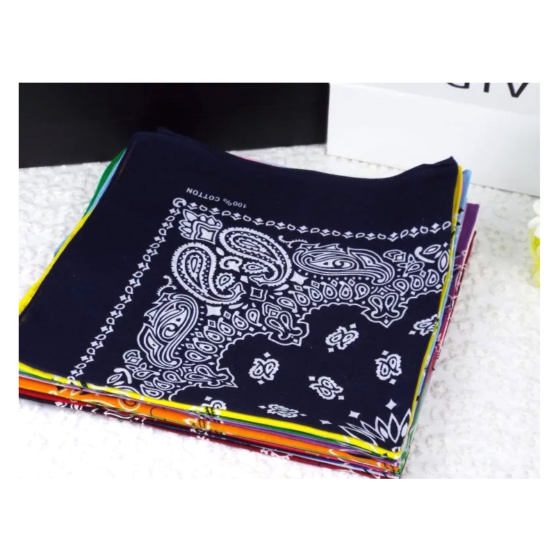 floral handkerchief Star with a stylish cotton scarf square hip hop star fan in Men 39 s Ties amp Handkerchiefs from Apparel Accessories
