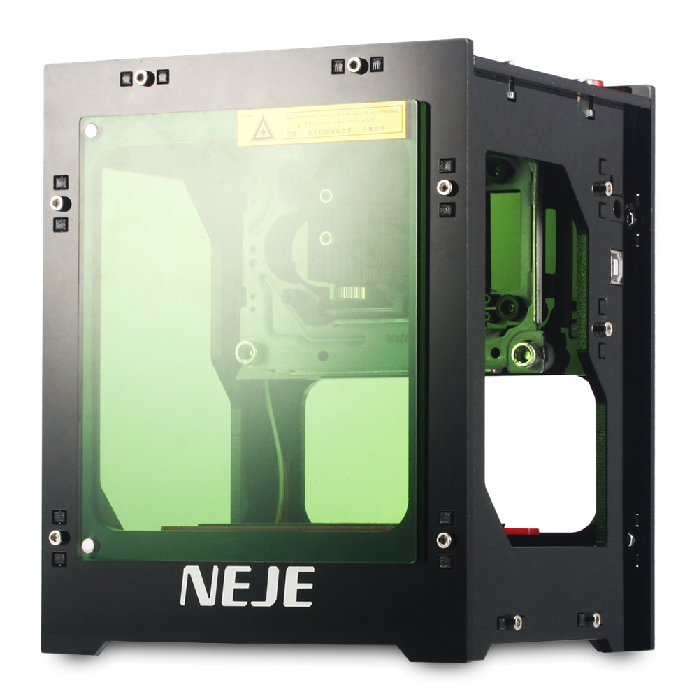 Professional High Quality 2018 Upgrade NEJE DK 8 KZ 1000mW High Power Laser Engraver Printer Cutter