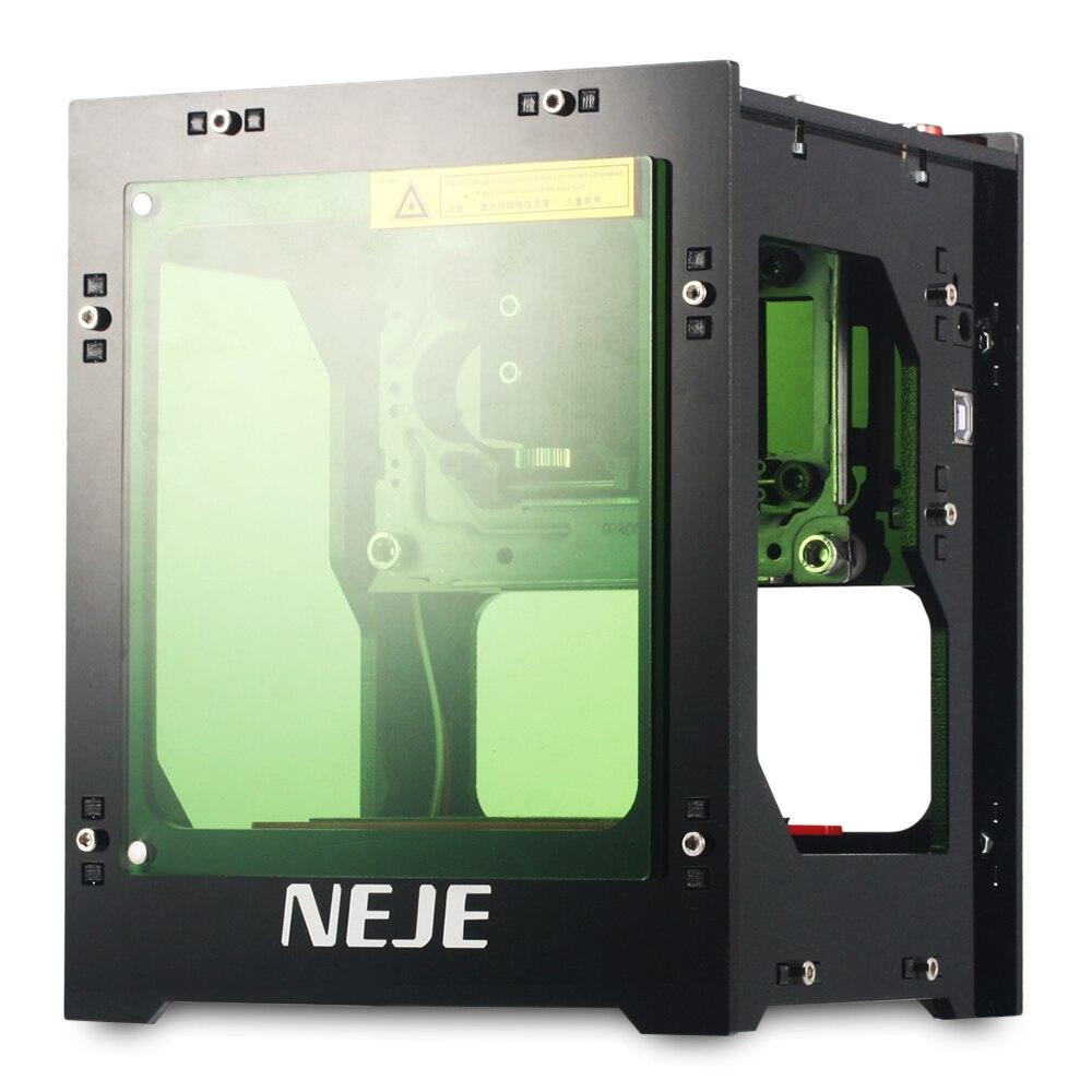 Professionelle Hohe Qualität 2018 Upgrade NEJE DK-8-KZ 1000 mw High Power Laser Engraver Drucker Cutter Maschine z40