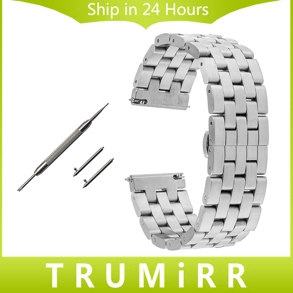 Quick Release Stainless Steel Watchband 20mm 22mm for Zenith Paul Picot Watch Band Butterfly Clasp Wrist Strap Black Silver Grey 20mm 22mm stainless steel watchband quick release strap for tissot 1853 t035 t097 watch band butterfly clasp belt wrist bracelet