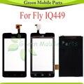 Для Fly IQ449 IQ 449 ЖК-Экран + Сенсорный Экран Планшета Панели Бесплатная Доставка С Отслеживанием