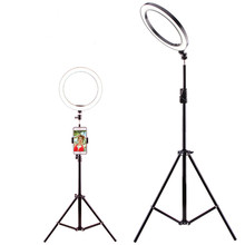 Beauty light network red live fill light mobile phone bracket led ring light anchor self-timer light photography tripod(China)
