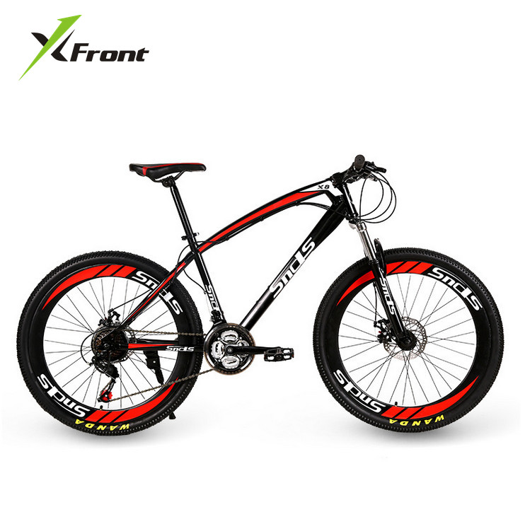 Original X-Front brand Snowmobile 21 Speeds 26 inch Tire disc brake MTB Mountain Bike Off-road gear reduction Beach bicycle