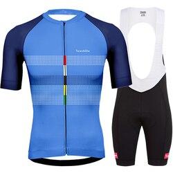Bretelle ciclismo ropa de hombre 2019 mùa hè Runchita go pro đi xe đạp quần áo bộ dụng cụ người đàn ông ngắn tay đi xe đạp bộ roupa ciclismo